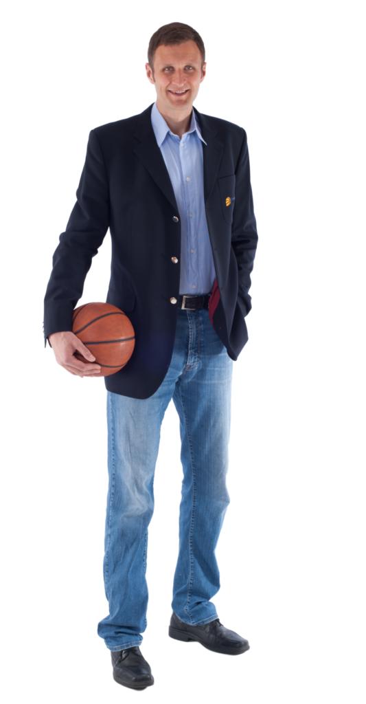 Patron projektu Jiří Zídek Basketbalista