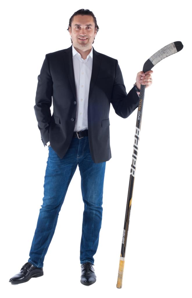 Patron projektu M. Černošek Hokejista
